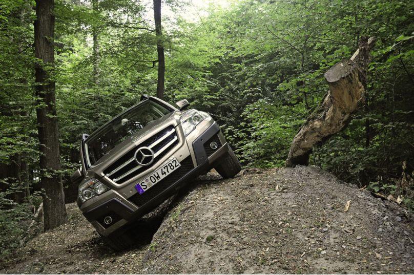 GLK-Klasse: Fahrbericht Mercedes GLK 300 4Matic: Kantiges Kraftpaket