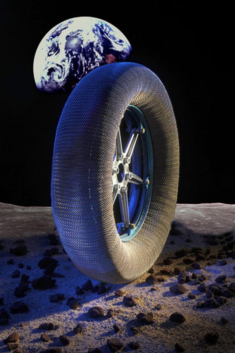 Goodyear entwickelt Reifen für den Mond