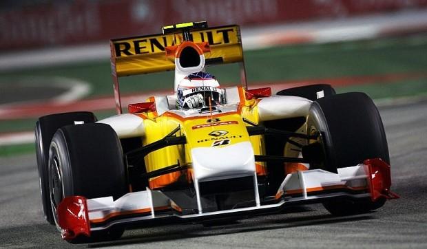 Grosjean mit Bremsproblemen: Renault feiert Podestplatz