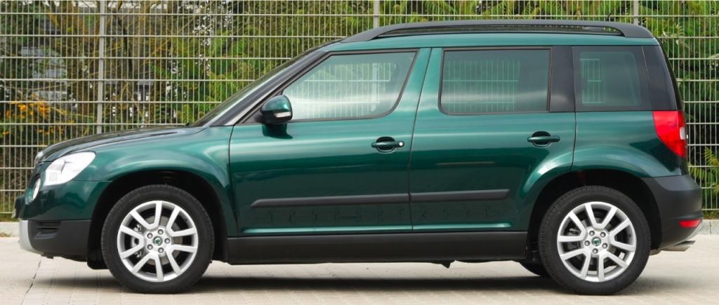 H&R Skoda Yeti 4x4: Eine Spur dynamischer