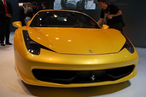 IAA 2009: Ferraris geschwungene Linien