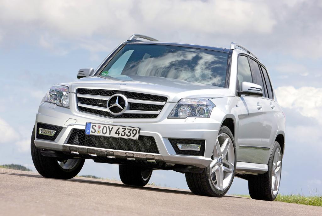 IAA 2009: Mercedes-Benz GLK mit Heckantrieb