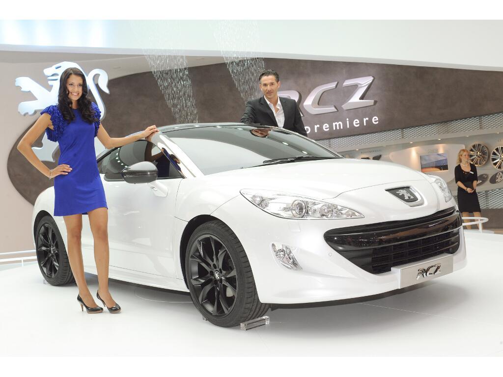 IAA 2009: Peugeot Sportcoupé RCZ feiert Weltpremiere