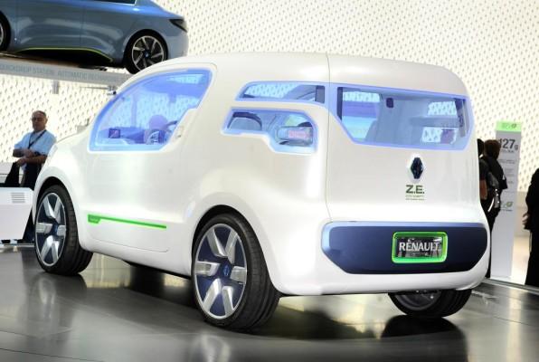 IAA 2009: Renault Kangoo Z.E.