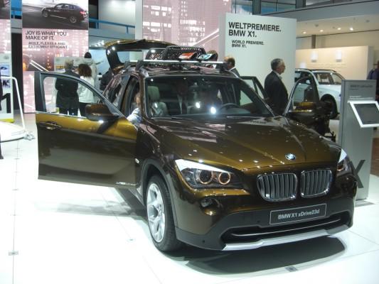 IAA 2009 Rundgang: BMW X1