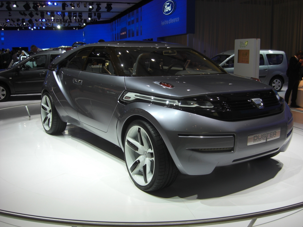 IAA 2009 Rundgang: Dacia Duster kommt 2010