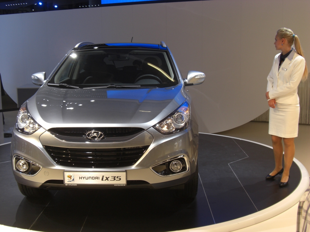 IAA 2009 Rundgang: Hyundai ix35