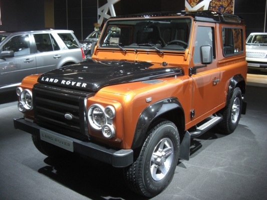 IAA 2009 Rundgang: Land Rover Discovery und Range Rover
