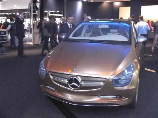 IAA 2009 Rundgang: Mercedes-Benz BlueZero