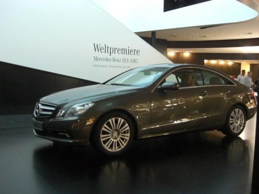 IAA 2009 Rundgang: Mercedes-Benz SLS AMG mit Elektroantrieb