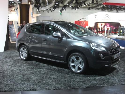 IAA 2009 Rundgang: Peugeot 3008