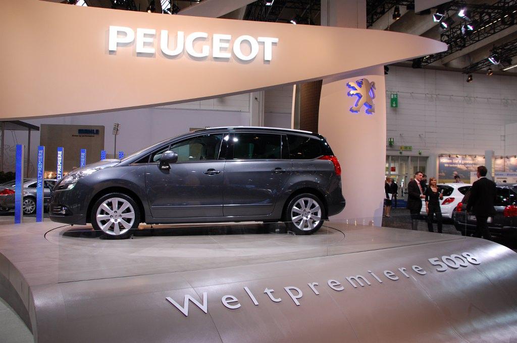 IAA 2009 Rundgang: Peugeot 5008