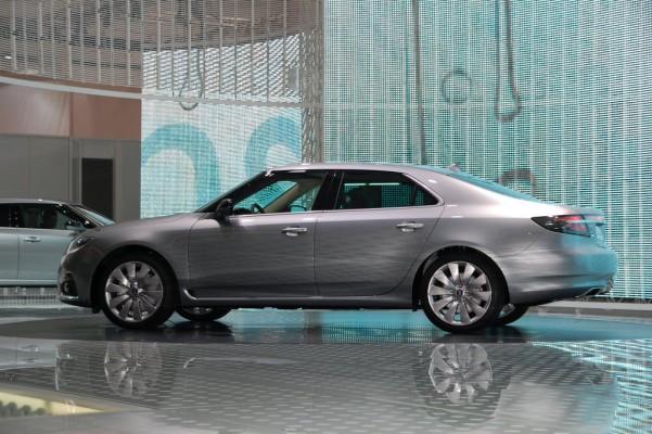 IAA 2009 Rundgang: Saab präsentiert neuen 9-5