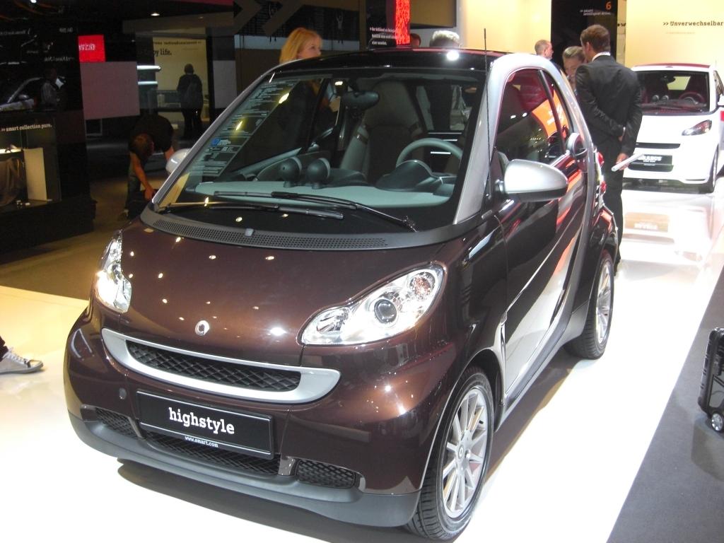 IAA 2009 Rundgang: Sondermodell Smart Fortwo Edition Highstyle