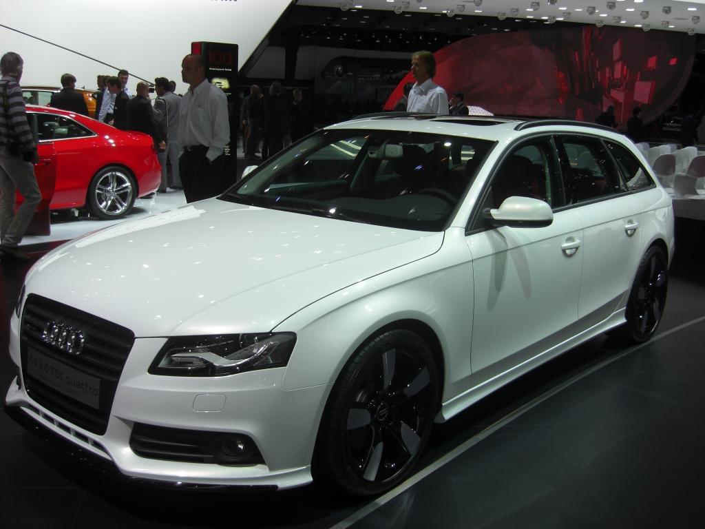IAA Frankfurt: Audi A4/A4 Avant 2.0 TFSI flexible fuel können auch Bioethanol tanken