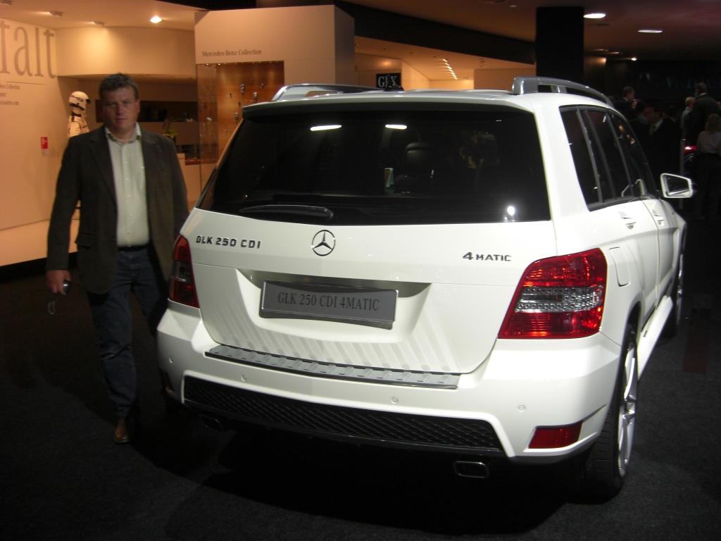 IAA Frankfurt: IAA 2009: Mercedes-Benz GLK mit Heckantrieb