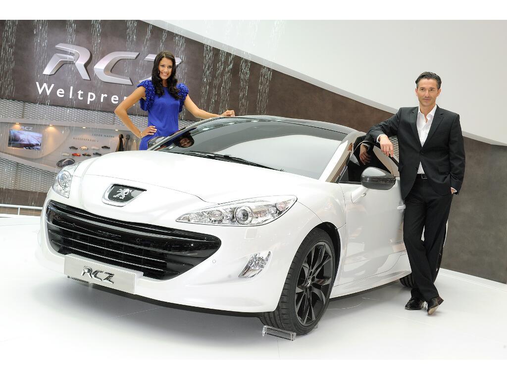 IAA Frankfurt: IAA 2009: Peugeot Sportcoupé RCZ feiert Weltpremiere