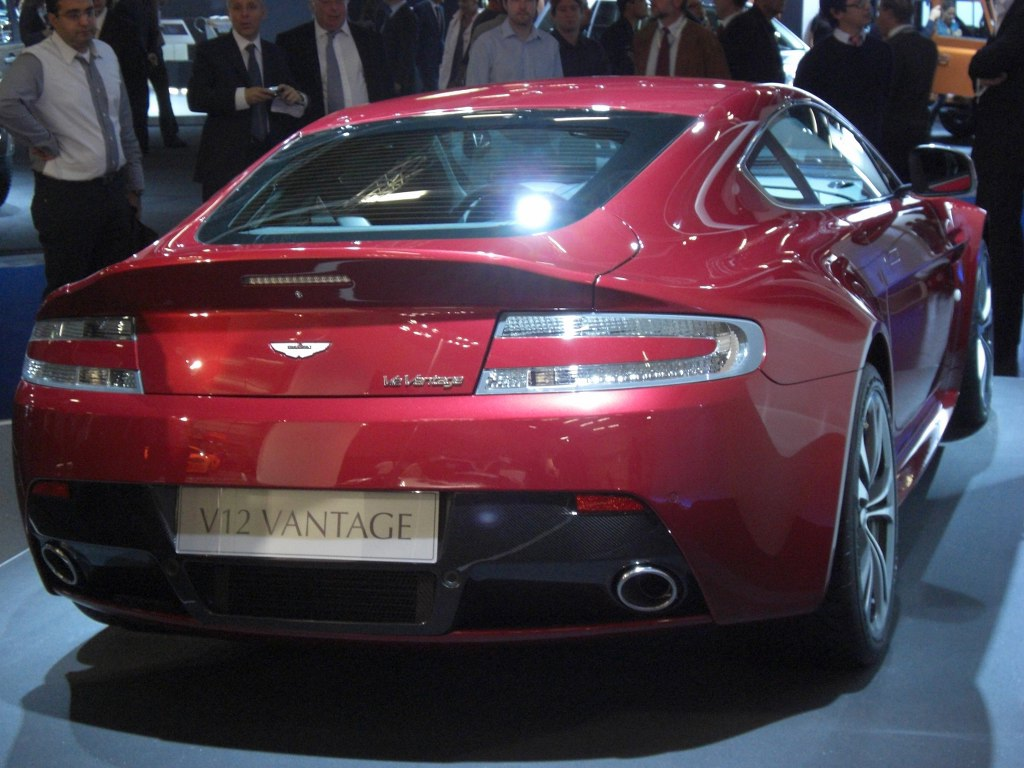 IAA Frankfurt: IAA 2009 Rundgang: Aston Martin Rapide
