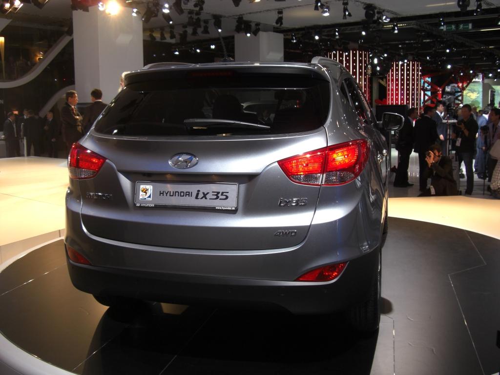 IAA Frankfurt: IAA 2009 Rundgang: Hyundai ix35