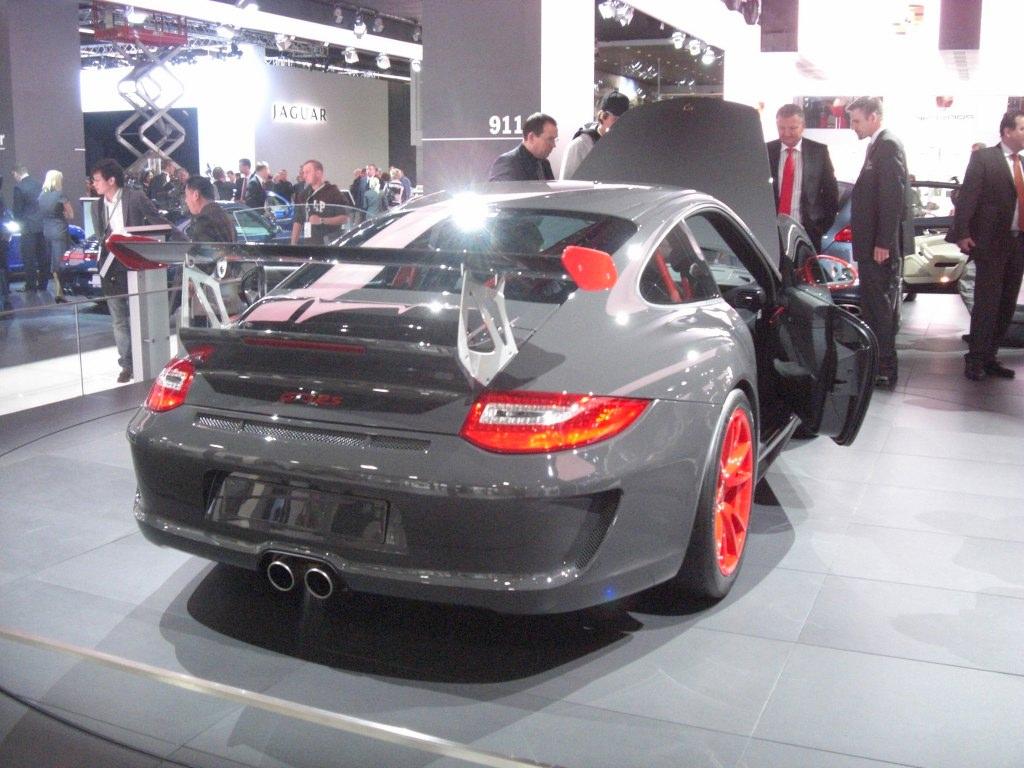 IAA Frankfurt: IAA 2009 Rundgang: Porsche 911 GT3 Cup