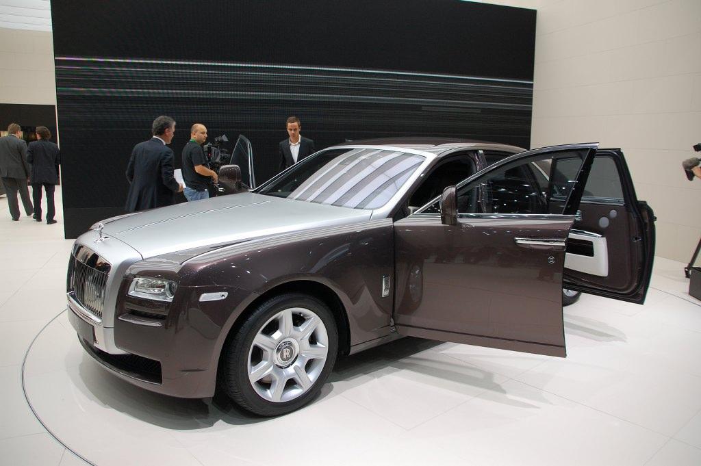 IAA Frankfurt: IAA 2009 Rundgang: Rolls-Royce Ghost