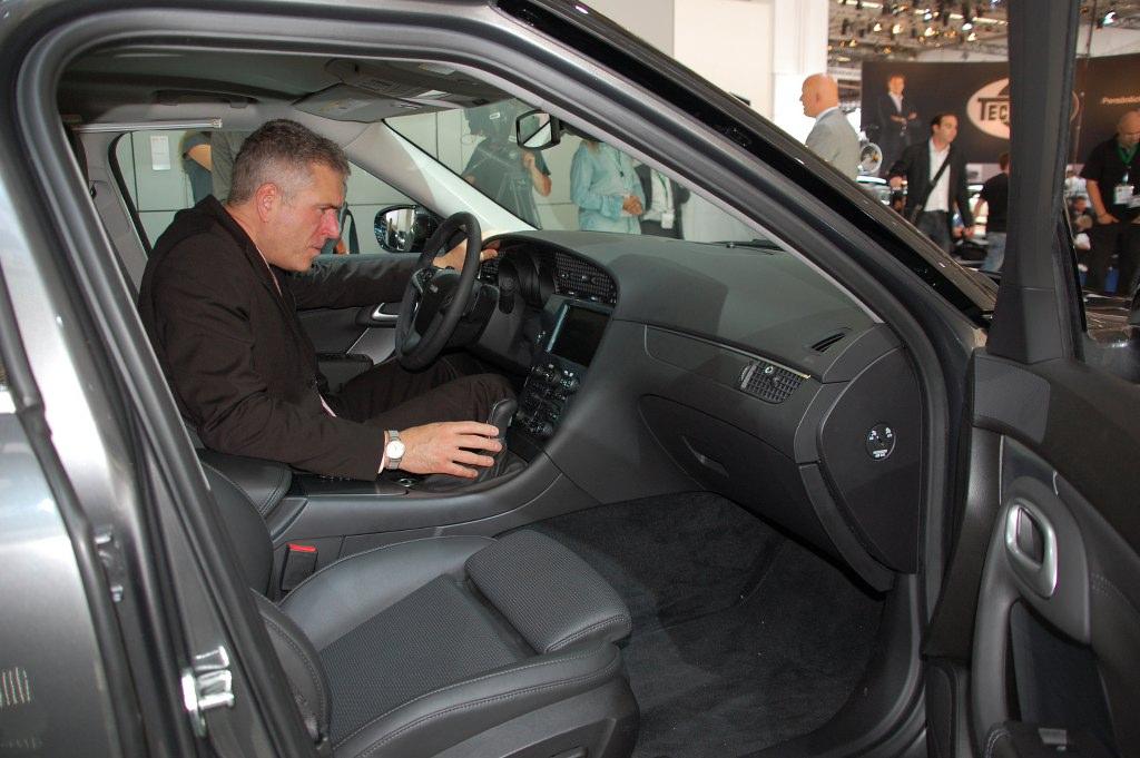 IAA Frankfurt: IAA 2009 Rundgang: Saab präsentiert neuen 9-5