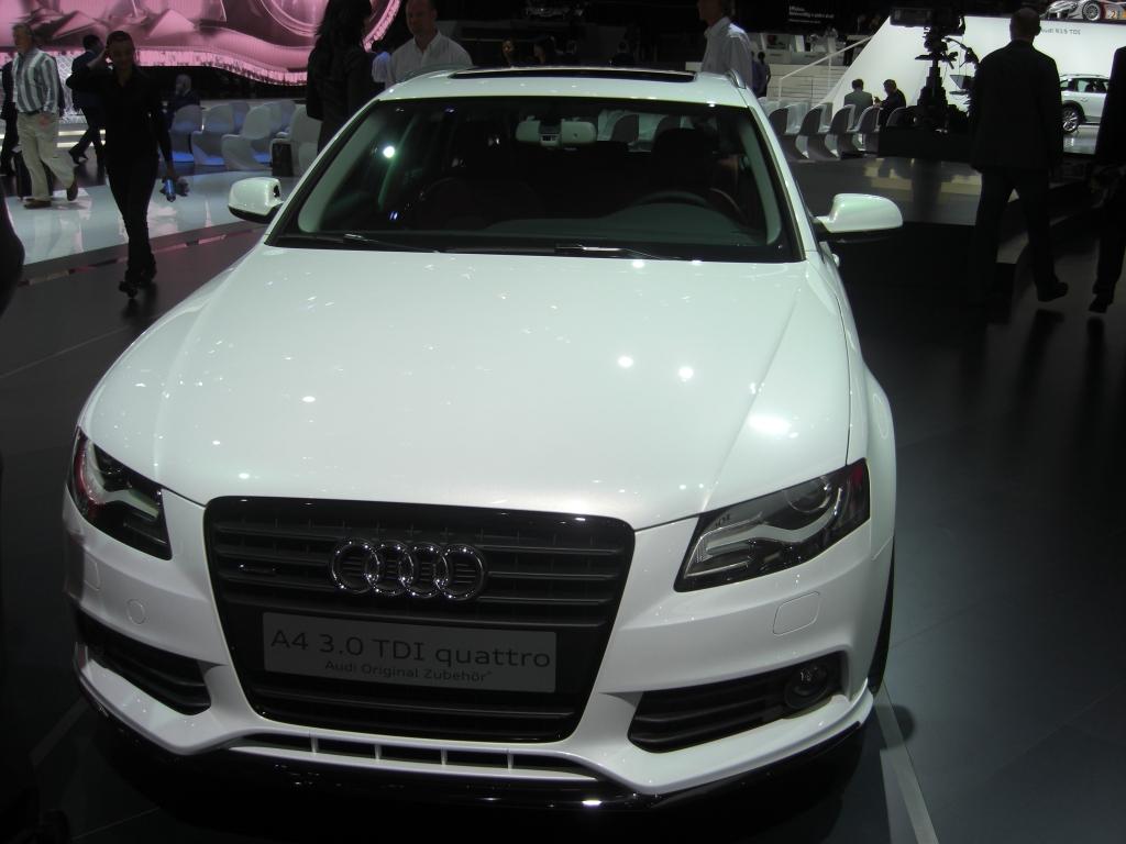 Imponierend: Audi A4 3.0 TDI clean diesel quattro