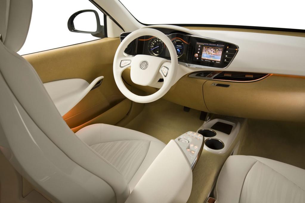 Konzeptfahrzeug von Johnson Controls: Schlank und elektrisch angetrieben