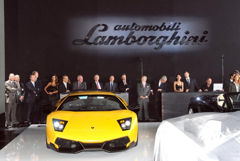 Lamborghini jetzt im Meilenwerk Stuttgart
