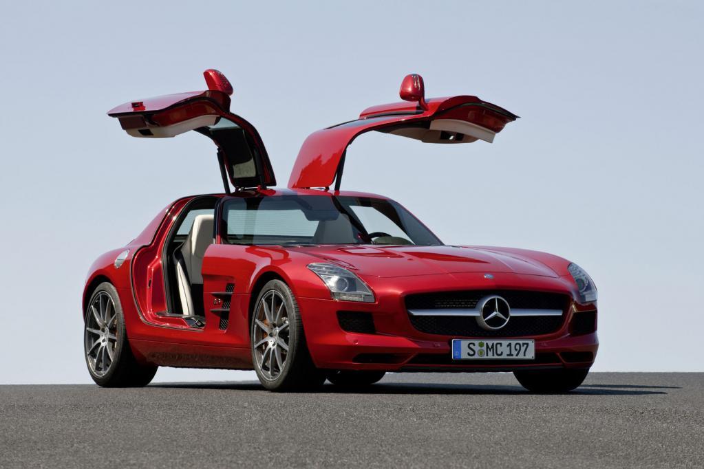 Mercedes Flügeltür-Sportler ab 177 310 Euro