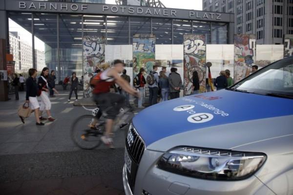 Mit der Audi Efficiency Challenge von A nach B