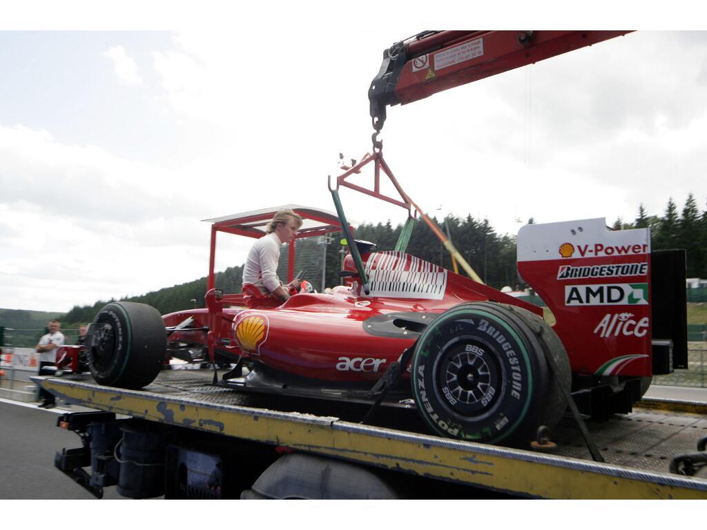 Motorsport: Belgien GP: Räikkönen gewinnt in Spa