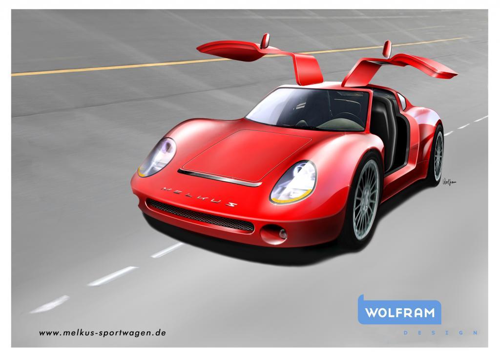 Neuer Sportwagen von Melkus
