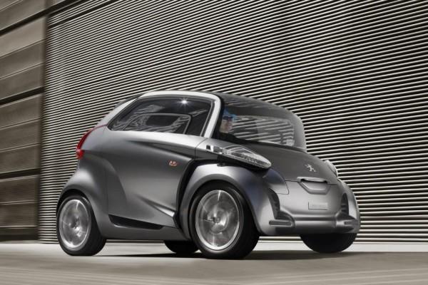 Peugeot BB1: Futuristische Elektroauto-Studie für die Stadt