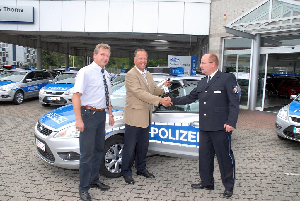 Polizei erhält 260 Ford Focus und Mondeo