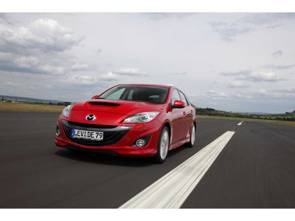 Presse-Präsentation Mazda3 MPS: Kompakt-Sportler mit viel Power