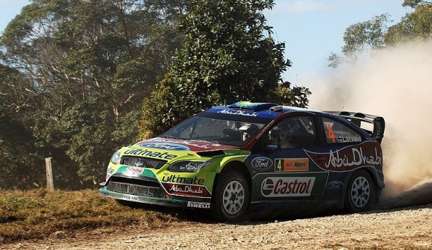 Rallye Australien Tag 1: Latvala knapp in Führung: Enges Duell an der Spitze