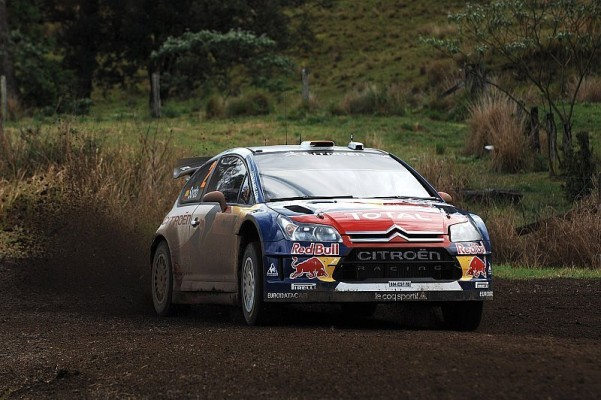Rallye Australien Tag 2 - Sordo übernimmt Führung: 0,1 Sekunden