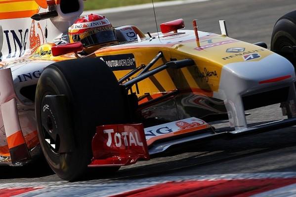 Renault arbeitete am Setup: Viel und wenig Sprit