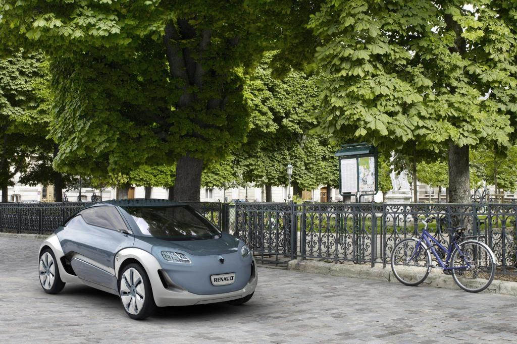 Renault steht in Frankfurt unter Strom