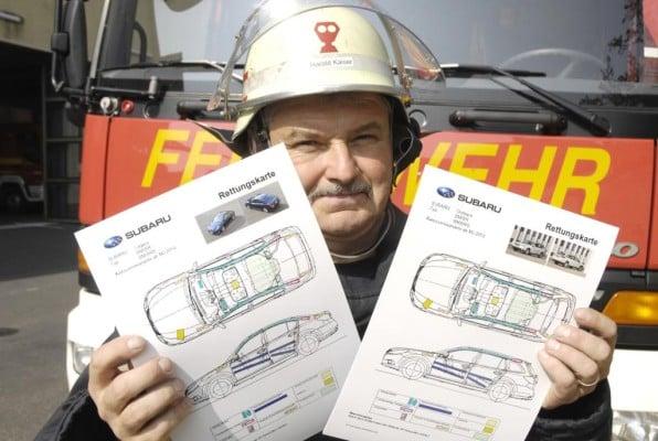 Rettungskarten erhöhen Sicherheit