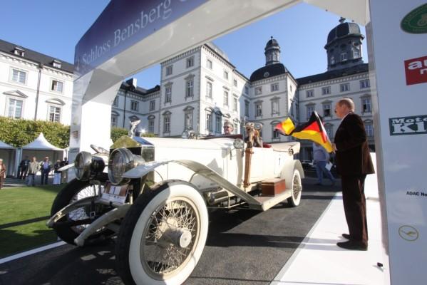 Start-Nr. 1 bei den Schloss Bensberg Classics ziert einen RR