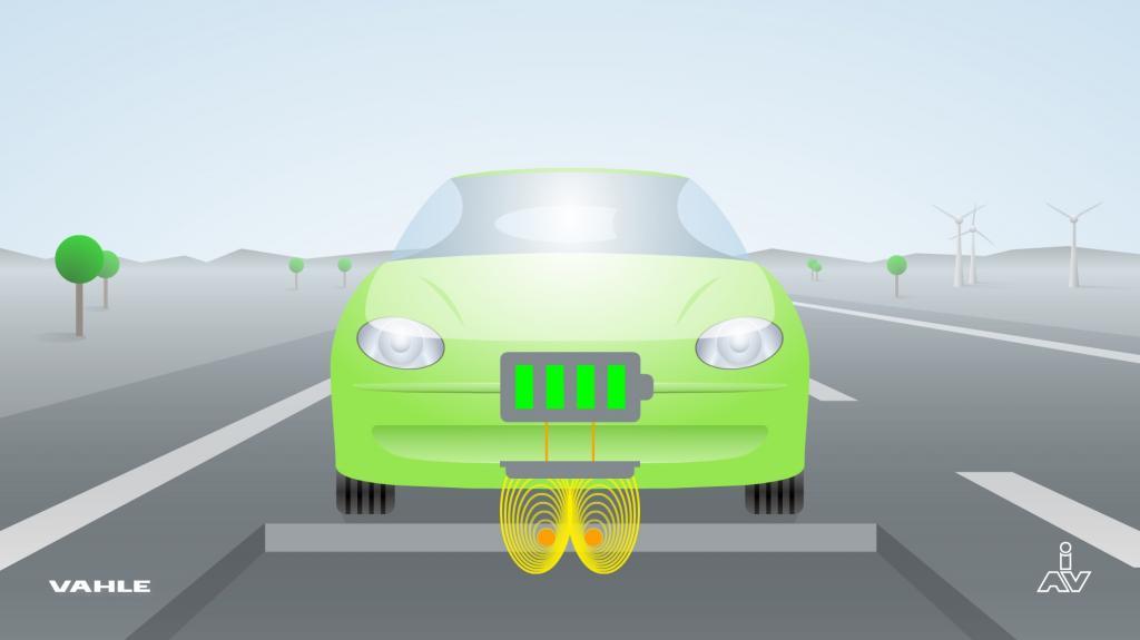 Straße als Stromtankstelle für E-Autos