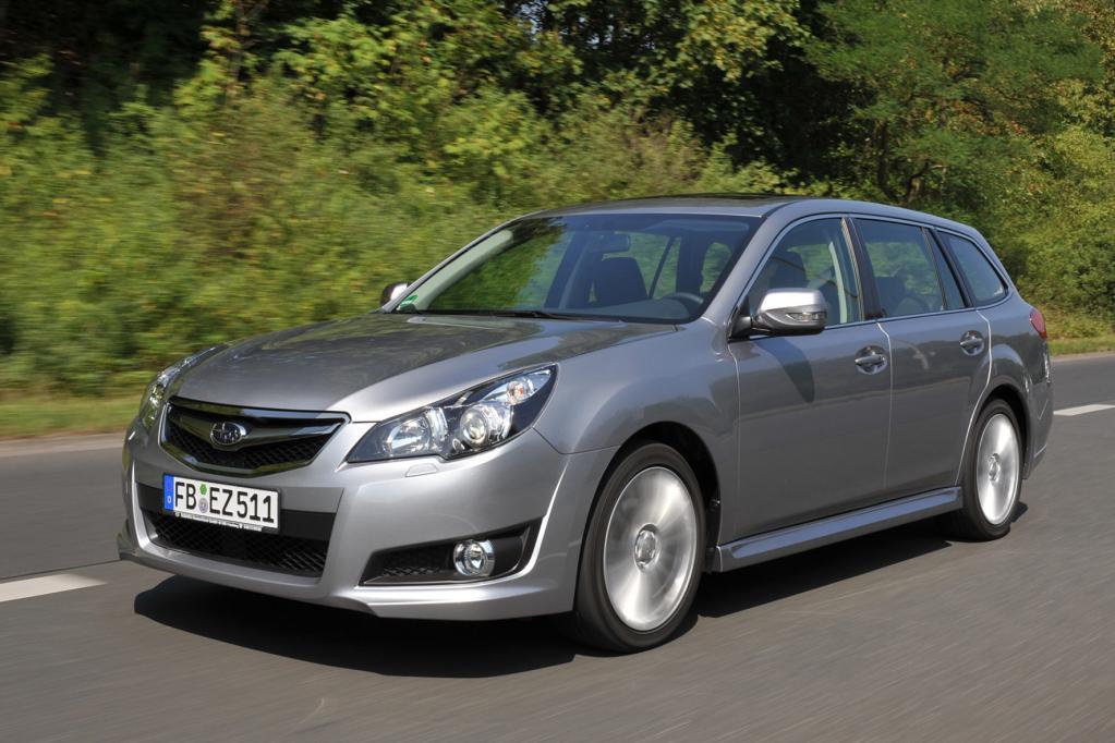 Subaru Legacy und Outback: Japanische Allrad-Mittelklasse in neuem Gewand  - Bild(2)