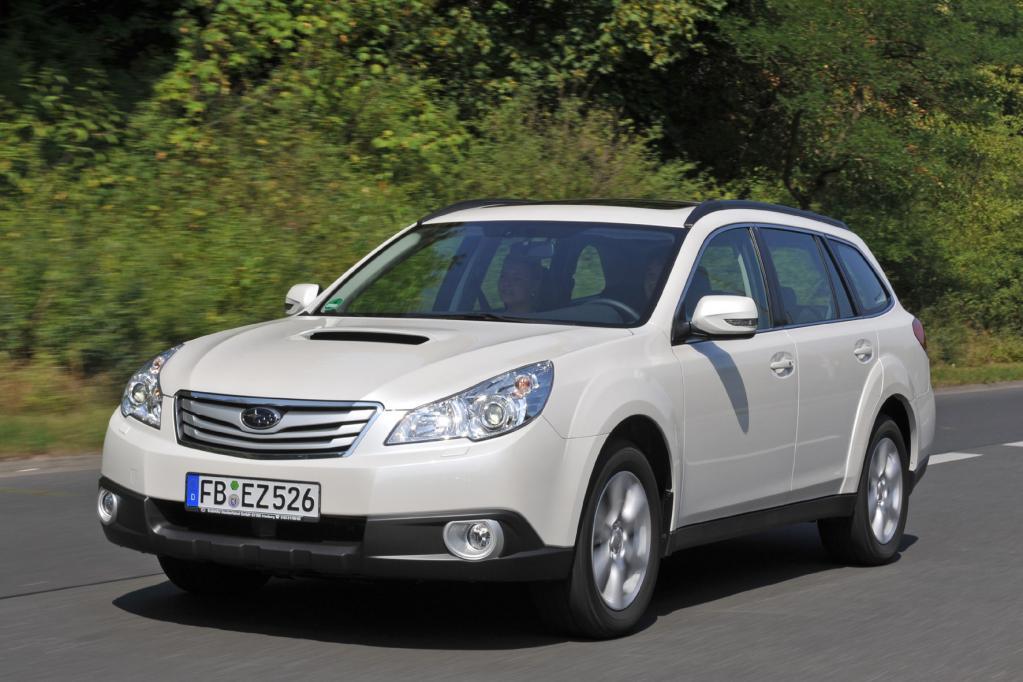 Subaru Legacy und Outback: Japanische Allrad-Mittelklasse in neuem Gewand  - Bild(4)