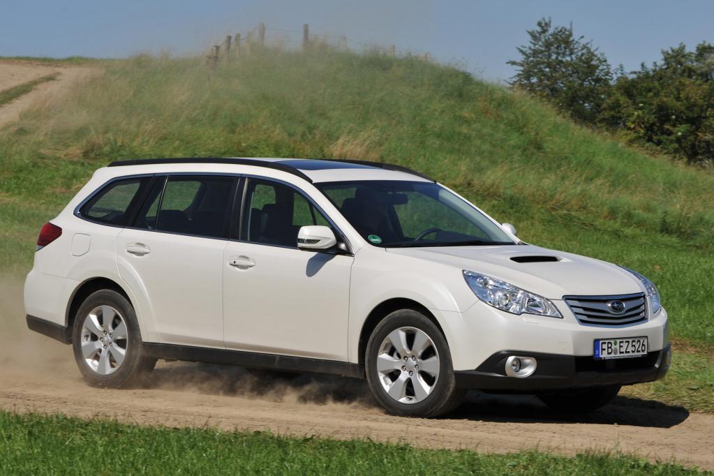 Subaru Legacy und Outback: Japanische Allrad-Mittelklasse in neuem Gewand  - Bild(5)