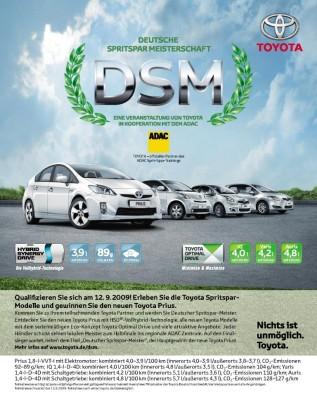 Toyota sucht den Spritspar-Meister
