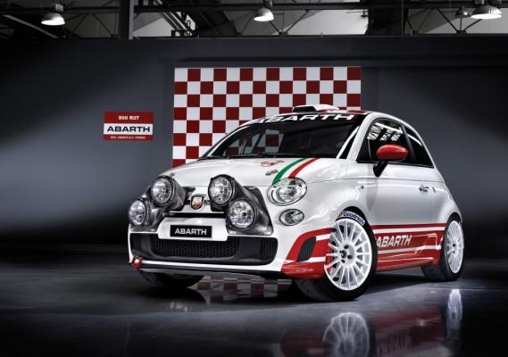 Trofeo Abarth 500 ab 2010 auch im Rallye-Einsatz