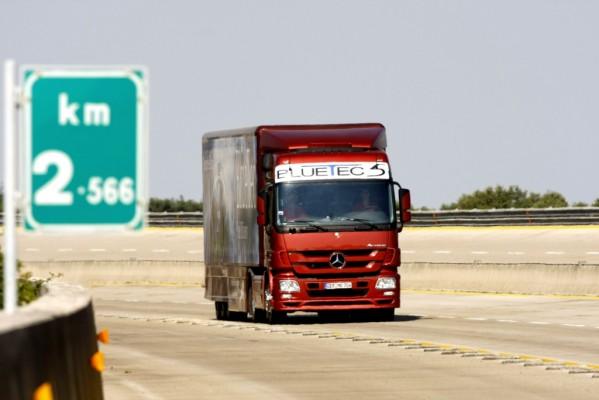 Ungebremste Talfahrt für die europäische Nutzfahrzeugbranche