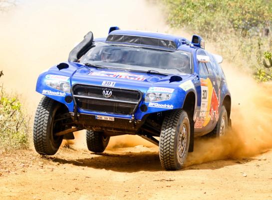 Volkswagen nimmt an Silk-Way-Rallye teil